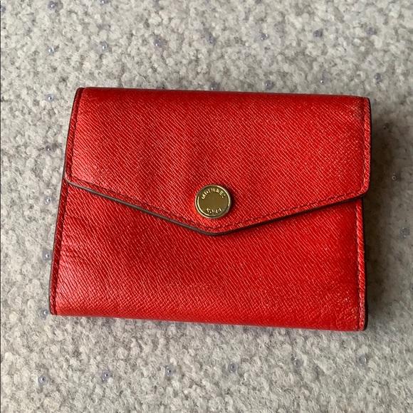 34297df2260d MICHAEL Michael Kors small leather envelope wallet.  M 5c5cb04b12cd4a420e1cea68